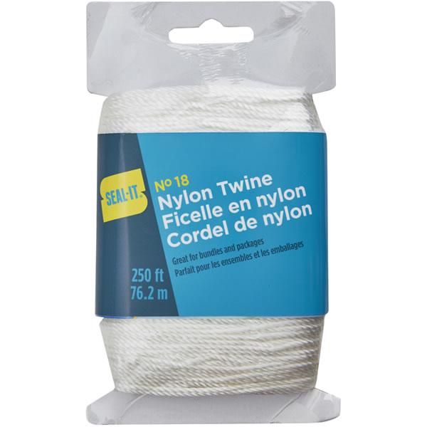 White Nylon Twine  250 ft
